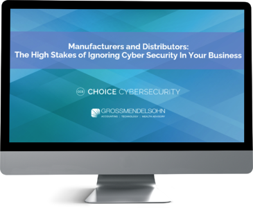 cyber security for manufacturers and distributors webinar