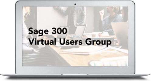 sage 300 virtual users group